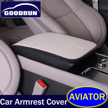 Armrest-Cover Interiors-Accessories Silk-Screen Lincoln Aviator Car for Pad Protactor