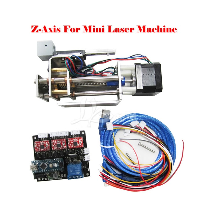 DIY plotter suite LY DPS-01 Laser engraving machine convert to 3 axis CNC model DIY Z axis slide platform suite with pen clamp