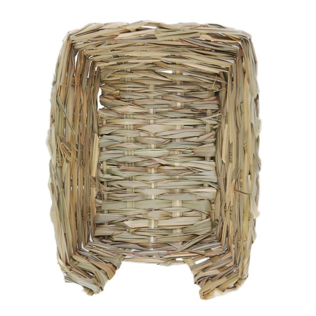 23*18*8.5cm Natural Bed and Grass Nest for Guinea Pigs Chinchillas and Rabbits Small Pets Hamster Chew Toys Mice Bed 4