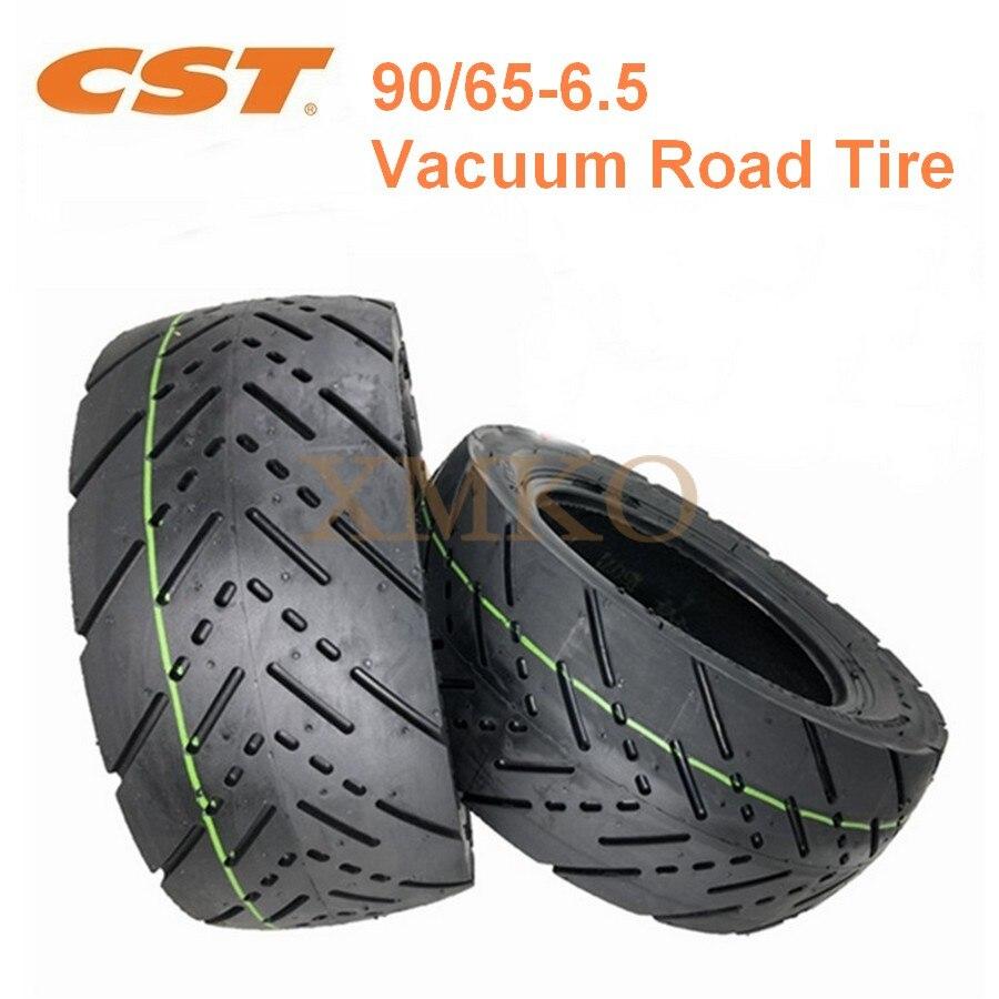 Бесплатная доставка, бескамерная шина CST 90/65-6,5, Электрический скутер, сменная 11-дюймовая вакуумная дорожная шина