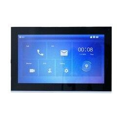 Logotipo DH VTH5441G PoE (802.3af) Monitor táctil de Interior de 10 pulgadas, monitor de timbre IP, monitor de videoportero, monitor de timbre con cable