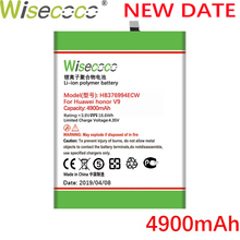 Wisecoco 4900mAh HB376994ECW Battery For Huawei HonorV9 Honor V9 8 Pro DUK-TL30 DUK-AL20 Phone Latest Production