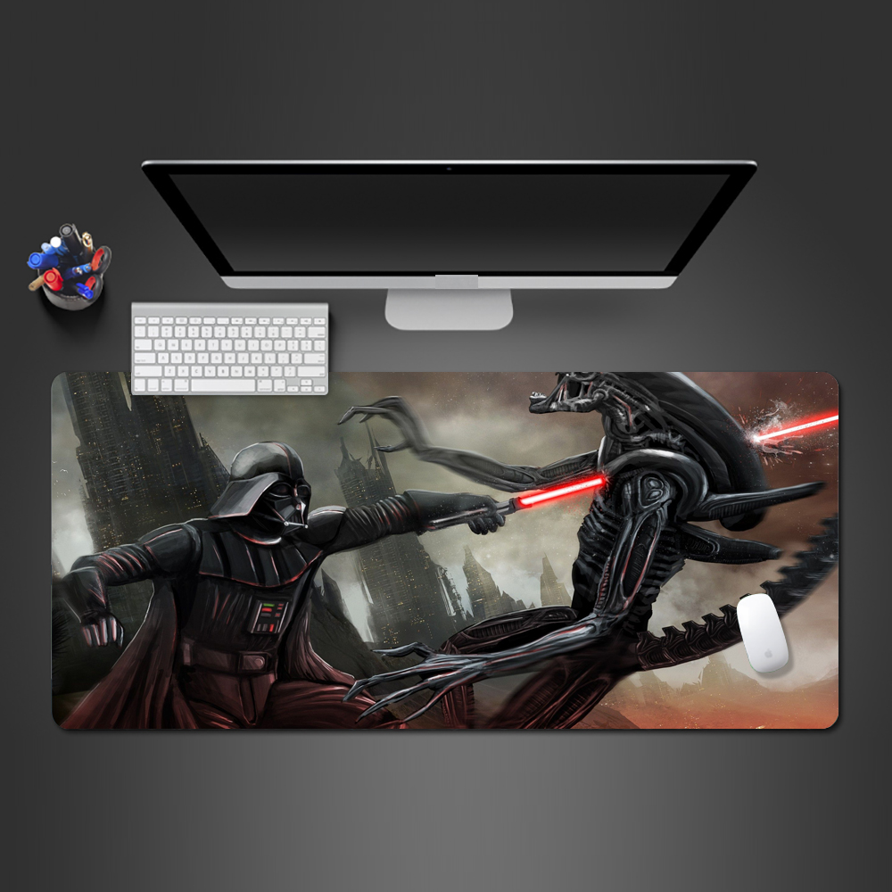 Star Wars Movie Mouse Pad Rubber Mouse Game Team Gaming Pad Personality Pads Wot PC Gaming Computer Keyboard Mouse Desk Mats image