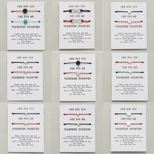 2 шт./компл. Wish Card Парные браслеты Регулируемые красные веревки плетеные золотые короны Сердце Звезда Крест браслет дружбы ювелирные изделия