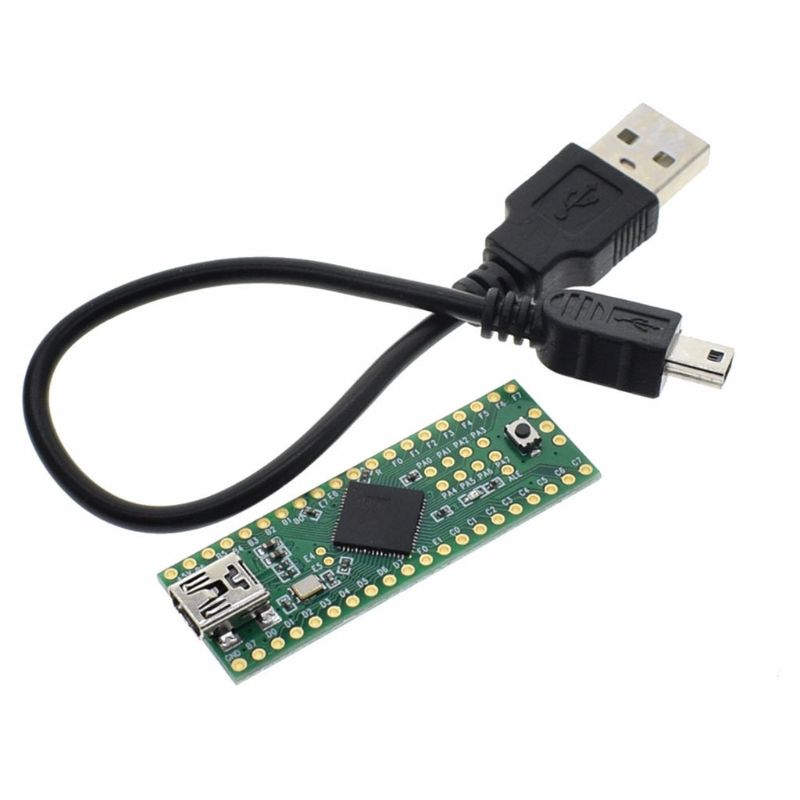 Teensy 2.0 USB AVR Development Board Keyboard Mouse ISP U Disk Experimental Use
