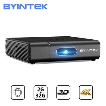 BYINTEK U30 Full HD 1080P 3D Android Smart WIFI lAsEr Beamer 300inch Portable Mini Projector Proyector for Smartphone 4K Cinema