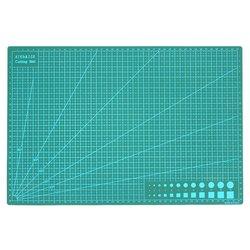 Herramienta hecha a mano de la placa de corte de la estera de corte A3 para el bloque de la forma de la mano Material duradero del PVC