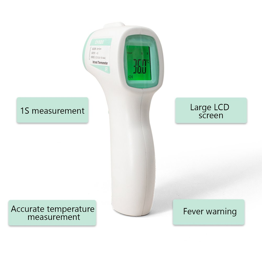 1PC R99 Infrared Forehead Thermometer  Celsius And Fahrenheit (Without Battery) Non-Contact Infrared Thermometer High Precision