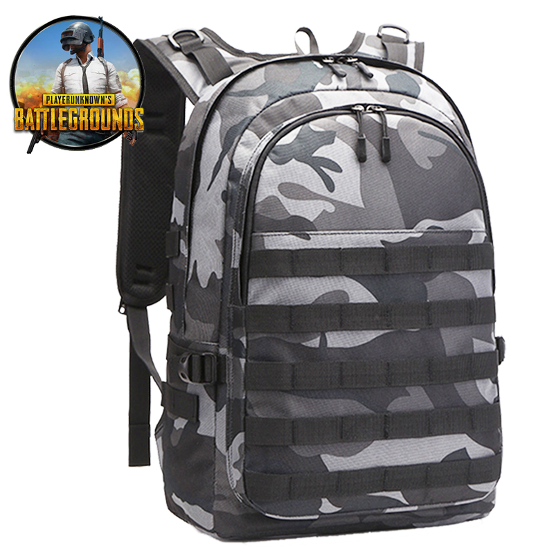 Tactical Military Army <font><b>Backpack</b></font> <font><b>PUBG</b></font> Playerunknown's Battlegrounds <font><b>Backpacks</b></font> Level 3 Cosplay Outdoor 15.6 Inch Laptop USB Bags image