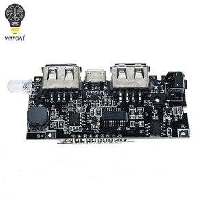 Image 5 - 2 Cổng USB 5V 1A 2.1A Điện Di Động Ngân Hàng 18650 Pin Sạc PCB Mô Đun Nguồn Phụ Kiện Cho Điện Thoại Tự Làm Mới LED Module LCD Ban
