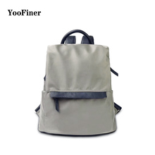 New brand YooFiner female backpack 2019 Japanese style waterproof bags wild casual travel girls school