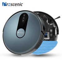 Proscénic 820P Robot aspirateur intelligent prévu 1800Pa aspiration avec nettoyage humide pour la maison tapis nettoyeur lavage Robot intelligent
