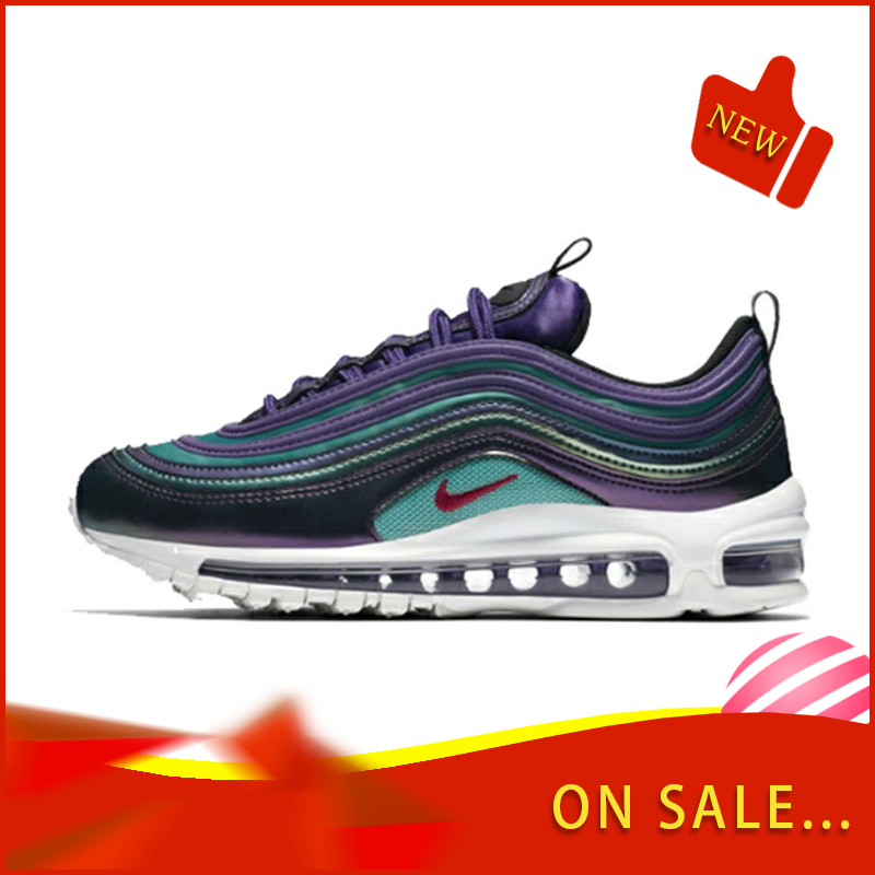 Original Authentic Nike Air Max 97 Women's Running Shoes Fashion Classic Outdoor Sports Shoes Breathable 2019 New 923288-300