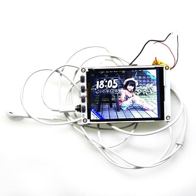 ESP32 TM Album Âm Nhạc 2.4 Inch Màn Hình TFT PCM5102A SD Wifi Module Bluetooth Ban SP99