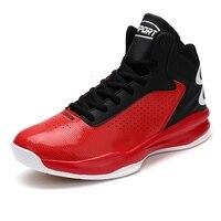 High-top Männer Basketball Schuhe Klassische Sport Mann Turnschuhe Trainer Big Plus Größe 39-46 Männer der Chaussures de Korb Schuhe