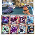 Экшн-фигурки из аниме «Наруто», 10 шт./лот, 3D HD Sasuke Kakashi Itachi Jiraiya Deidara Gaara, торговая коллекция, Подарочная игрушка для детей