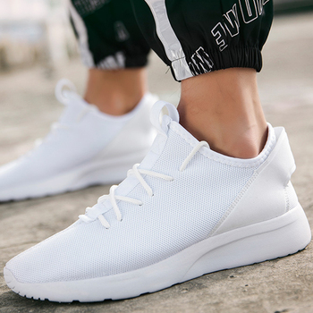 Damyuan hot light sneakers men's white breathable comfortable jogging running shoes 47 large size outdoor non-slip casual shoes damyuan new 2020 women breathable running shoes casual outdoor jogging walking lightweight shoes comfortable sports sneakers
