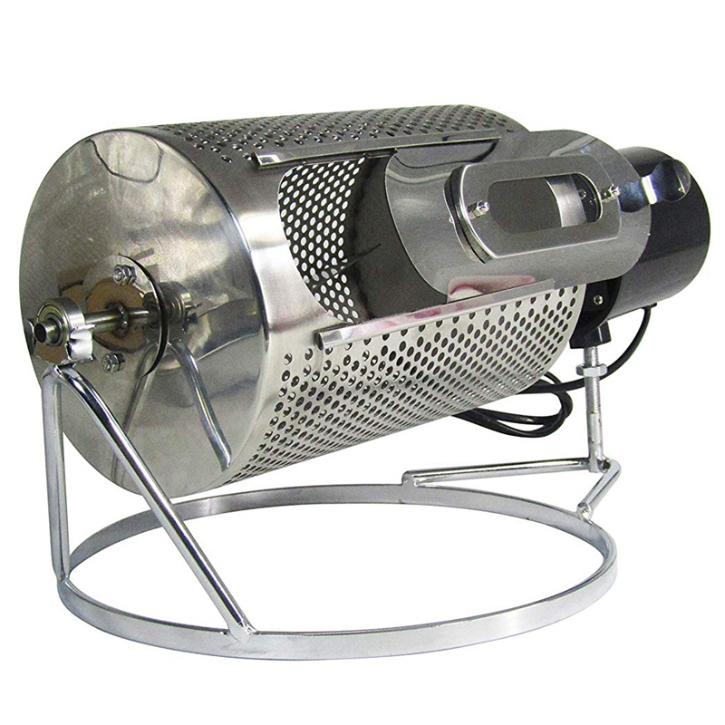 250G Domestic Coffee Bean Roaster Stainless Steel Coffee Bean Roaster Roasted French Fries Peanuts Cereal Nuts Dryer for Gas Sto|Other Kitchen Specialty Tools| |  - title=