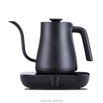 Stainless Steel coffee pot Variable frequency constant temperature electric kettle 0.6l mini Gooseneck long nozzle teapot