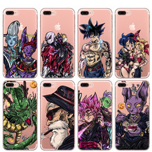 Legal Super Dragon Ball Goku Vegeta Frieza Mestre Kame Beerus Caixa Do Telefone X Caso Para iphone 6 6 Max XR XS S 5 5S 7 8 mais SE(China)