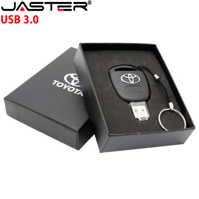 Car Key Toyota USB 3.0 Flash Drive 16GB 32GB 64GB 128GB Personalise Pen Drive USB Memory Stick Original Gift Box Storage Device