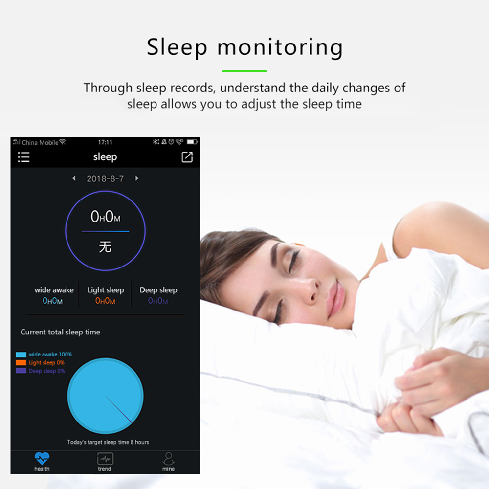 Smart Wristband Blood Pressure Monitor Oximeter Oxygen Heart Rate Band Bracelet Sports Fitness Tracker Watches sphygmomanometer 3