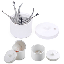 Nail Art Tools Cleaner High Temperature Disinfection Sterilizer Box Manicure Tool Sterilizing Bowl KG66