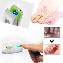 Nowy użytku domowego Toe paznokci grzyb terapia laserowa leczenie urządzenie Onychomycosis Anti paznokieć zakażenia grzybicze LLLT fizjoterapia