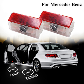 2 x Led Laser Projector Lights Car Logo Door Welcome Light Ghost Shadow Lamp for Mercedes Benz GLK X204 A B Class W168 W169 W245 1698206710 for mercedes benz a b class w169 2004 2012 w245 2005 2011 front left electric power master window switch