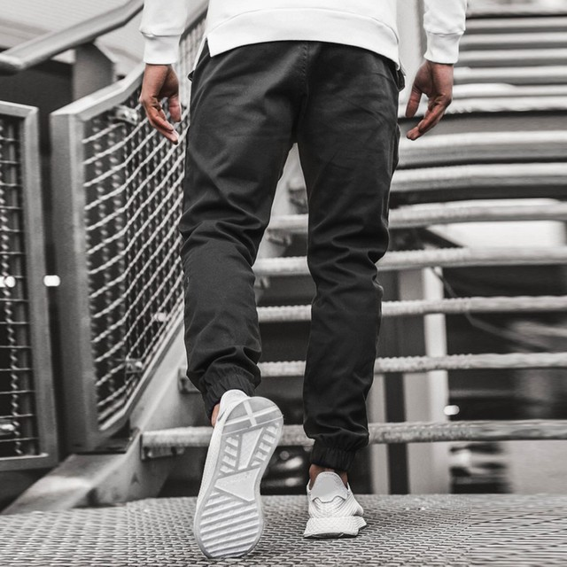 Streetwear Hip hop Joggers Pants Men Loose Harem Pants Ankle Length Trousers Sport Casual Sweatpants White Techwear  1.13 3