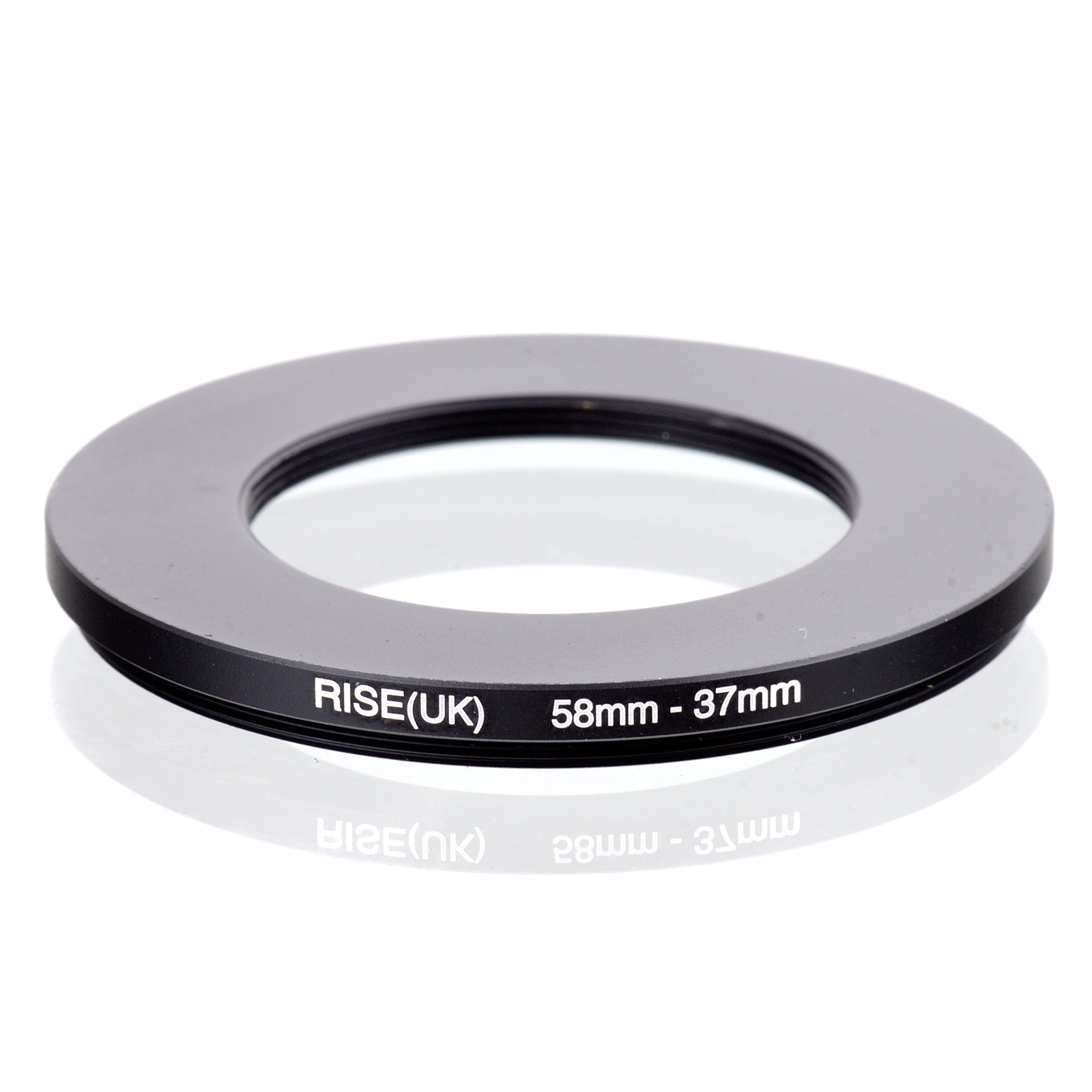 RISE(UK) 58mm-37mm 58-37 Mm 58 To 37 Step Down Filter Ring Adapter