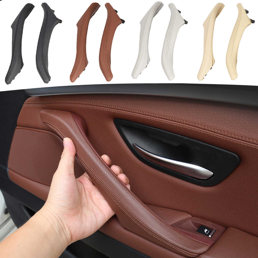 X AUTOHAUX Car Inner Door Panel Pull Handle Inner Door Support Bracket Right 51417225848 for BMW 520i 523i 525i