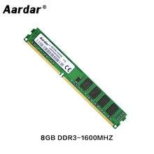 Mémoire de serveur d'ordinateur de bureau, modèle DDR3, capacité 2 go 4 go 8 go, fréquence d'horloge 1333/1600/1600/1333MHz, pour Intel et AMD