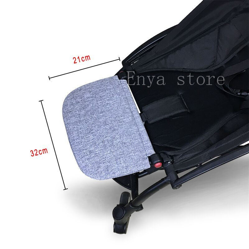 Image 3 - Baby Stroller Foot Rest Extension Feet Sleep Extend Buggy Board Footrest for Babyzen Yoyo Trolley Pushchair Yoya Accessories-in Strollers Accessories from Mother & Kids