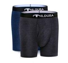 Men Merino Wool Underwear 100% Merino Wool 2 Pack Man Boxer Underpants Merino Wool Underwear Wicking Breathable Soft Size S XXL