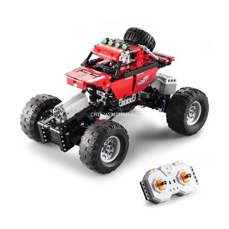 Car Off-Road Racing Motor Power Function Fit  Technic City Building Blocks Bricks Boys Kids Birthday Gifts Toys