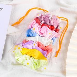 Светящиеся резинки для волос со светодиодной подсветкой, 9 шт./лот, повязка для хвоста, головной убор, эластичные атласные резинки для волос, аксессуары для волос для девочек, рождественский подарок