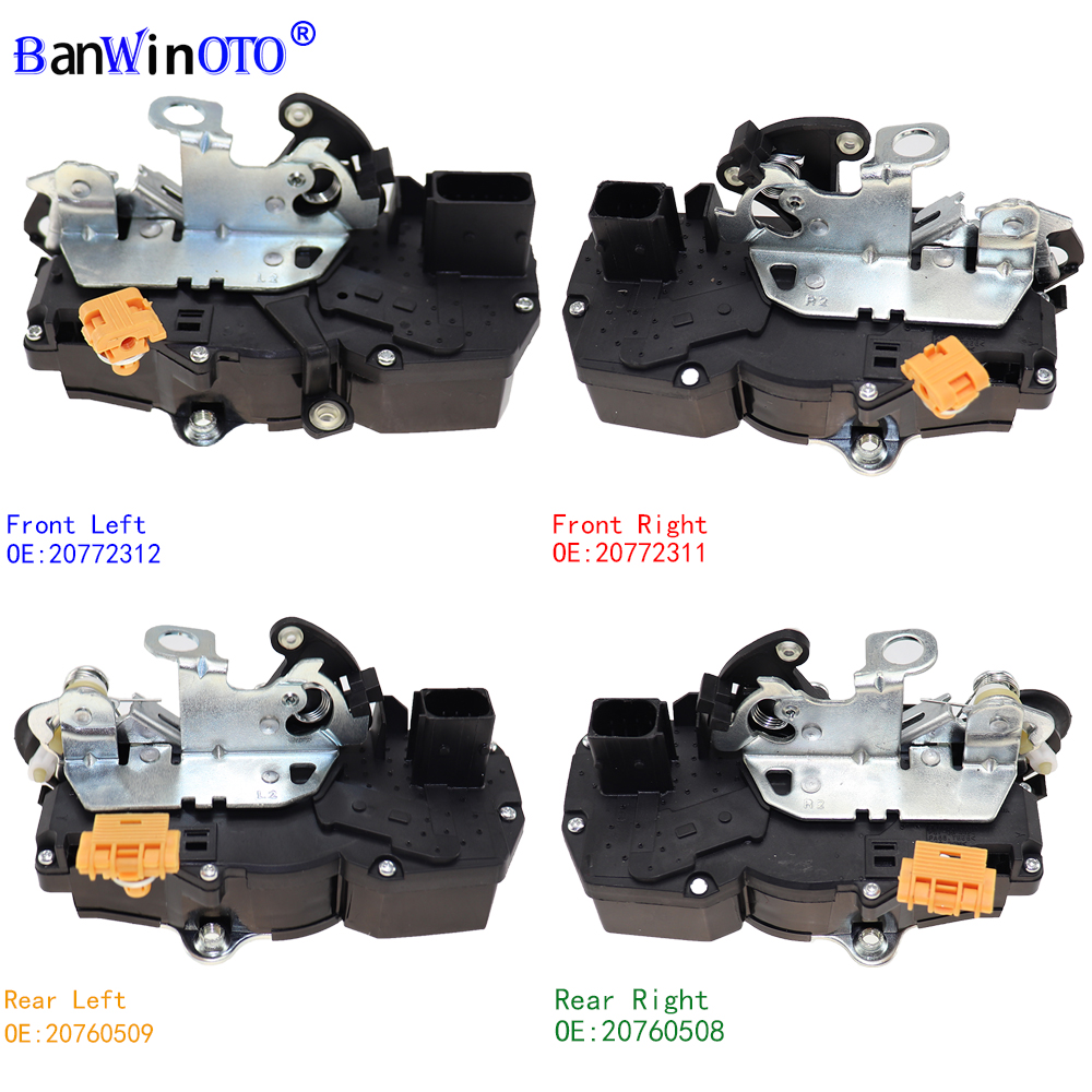 Mécanisme d'actionneur de serrure de porte de haute qualité pour Cadillac Escalade Chevy Tahoe GMC Yukon 20922246 22791035 22862242 931-108 931-109