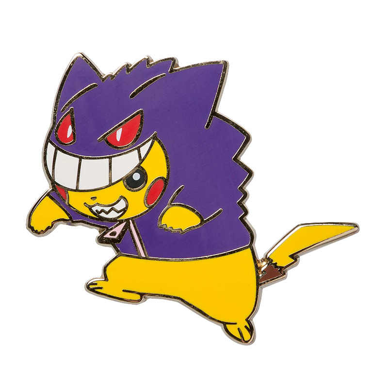 Gengar Pikachu Men Pin