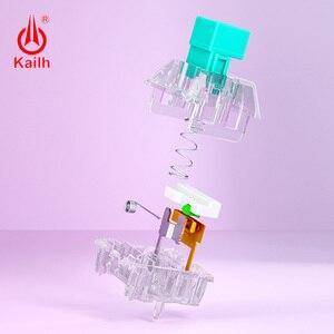 Image 3 - Механическая клавиатура kailh Crystal box Switch Pro «сделай сам», тактильный переключатель RGB/SMD, пылезащитный, водонепроницаемый, совместим с Cherry MX, 10 шт.
