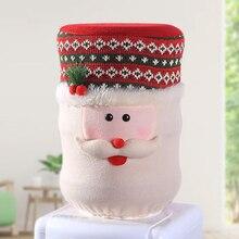 Милые Чехлы для бусинов, Рождественская Пылезащитная крышка, вода, емкостный диспенсер, контейнер, очиститель бутылок, Рождественский Декор, Рождественское украшение для дома
