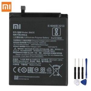 Image 1 - Originale XIAOMI BM3E Batteria di Ricambio Per Xiaomi 8 MI8 M8 MI 8 Autentico 3400mAh Batteria Del Telefono