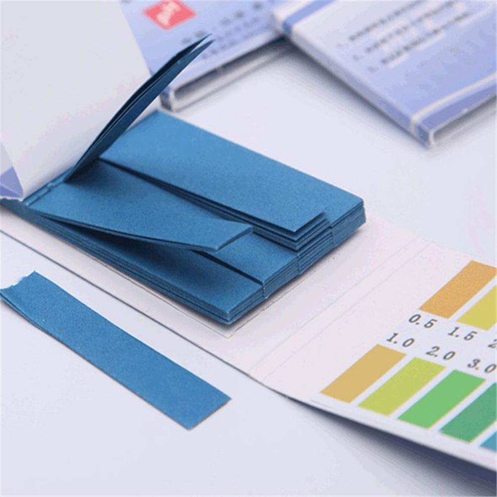 400 Strips,0.5-5.0,PH Indicator Test Paper,Chemistry Labware,5Packs/Lot