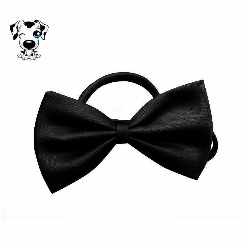 Carino Pet Dog Cat Cucciolo Collana Gatti Collare Del Legame di Arco Gattino Strap Pet Cani Giocattolo Divertente Kid Bow Tie Cravatta vestiti Del Cane Neck Strap