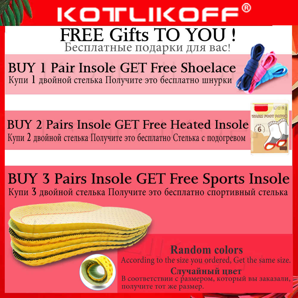 KOTLIKOFF 4D หน่วยความจำโฟม Orthotic Insole สนับสนุน Arch Orthopedic Insoles สำหรับรองเท้าแบนเท้า Feet Care รองเท้า Orthopedic Pads