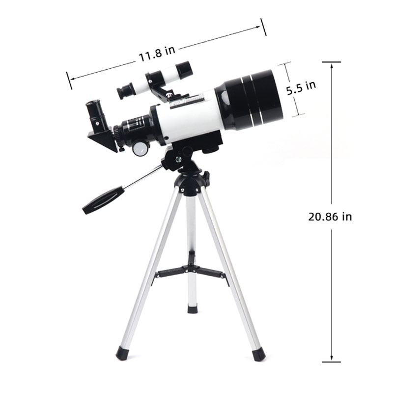 With Vision Gifts Astronomical Watching Tripod Powerful Night Kids 70mm For Monocular Telescope Moon Professional Low Refractor