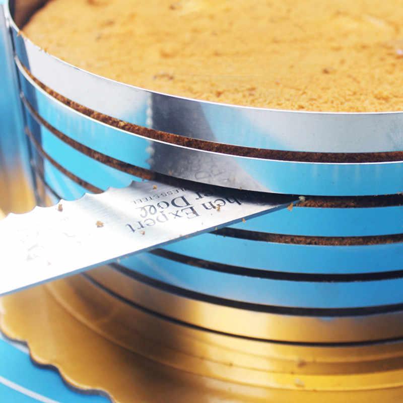 เครื่องตัดเค้กเครื่องตัดขนมปังสแตนเลสเค้กเครื่องตัดแม่พิมพ์ DIY เค้กตกแต่งเครื่องมืออุปกรณ์เบเกอรี่