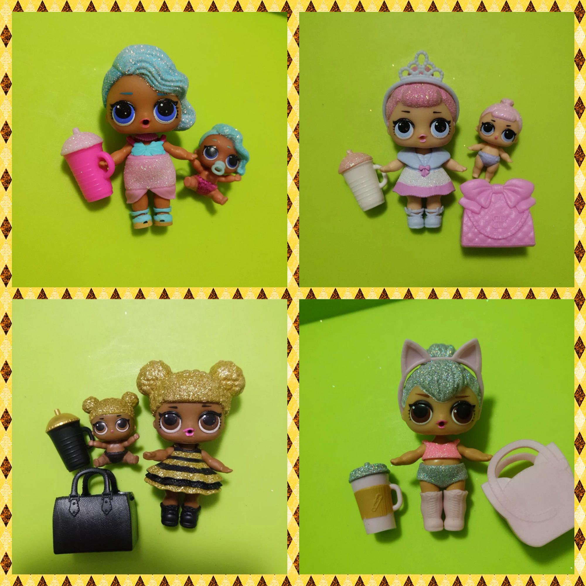 Lol. Surprise! O.M.G. Original Rare Style Children's Toys Dolls Action Figure Model Girl Christmas Gift
