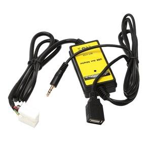 Интерфейс для Honda Accord Civic Odyssey S2000 Автомобильный комплект Mp3 аудио интерфейс Sd Aux Usb кабель для передачи данных адаптер Cd Changer Для Honda Ci