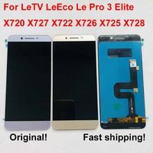 LeTV Le Pro 3 LeEco 디스플레이 터치 스크린 용 기존 AAA LCD lev LeEco Le Pro 3 LCD Le Pro3 Elite 디스플레이 X720 X727 X722